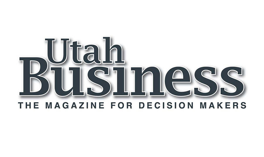 Utah Business Magazine Dark Blue Logo
