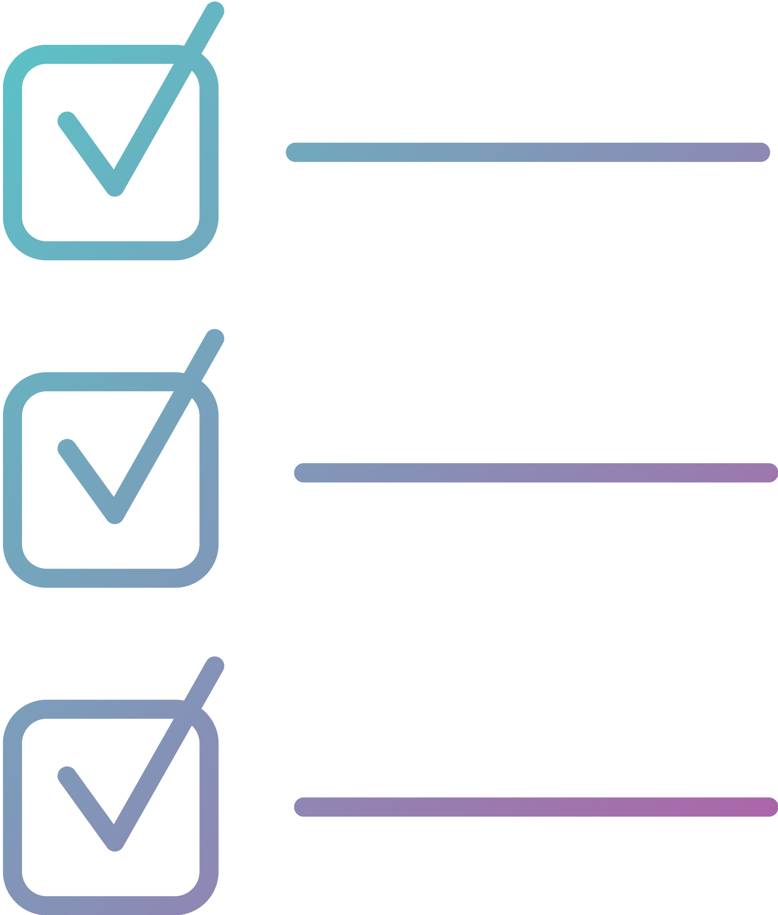 Compliance progress Tracking Blue-Purple Icon