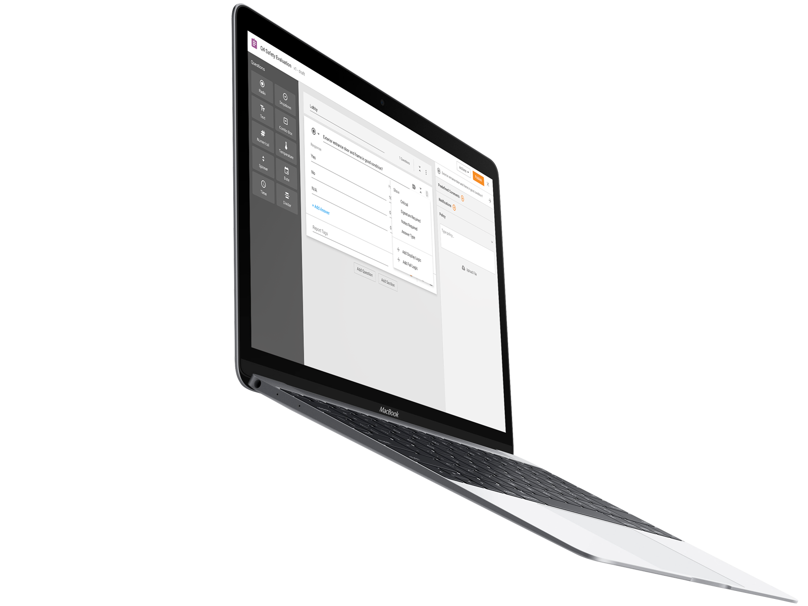 Form Builder Macbook