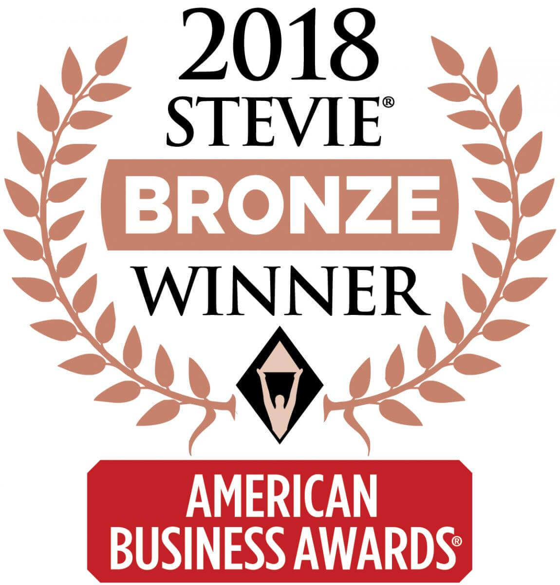 2018 Stevie Award Bronze Winner Logo
