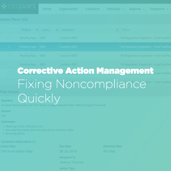 Corrective Action Management