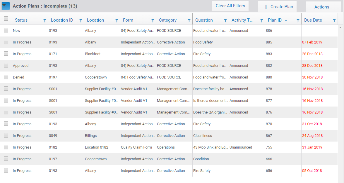 Incident Management Screenshot