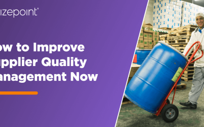 How to Improve Supplier Quality Management Now while Preparing for an Innovative Future