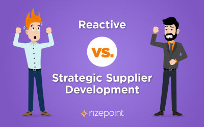 Reactive Vs. Strategic Supplier Development