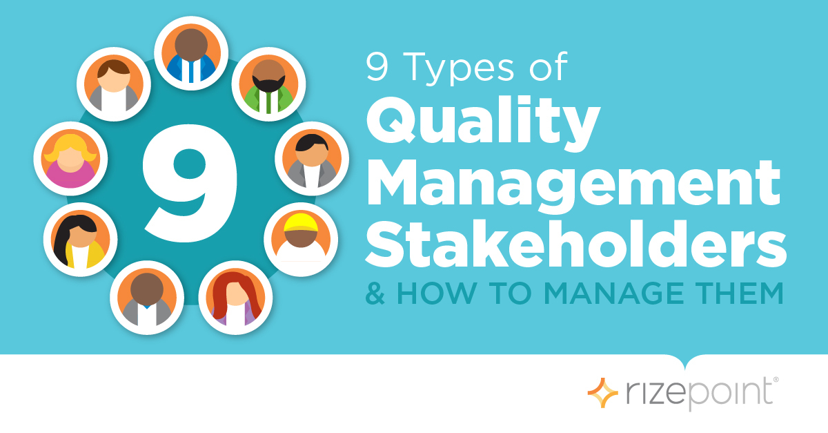 Quality Management Stakeholders