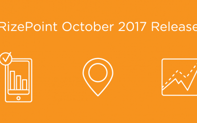 RizePoint October 2017 Release